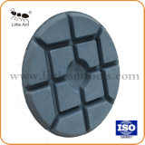 80mm Tampon de polissage de diamants d'obligations de résine de sol en béton à haute brillance