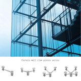 Spinner-Edelstahl-Armkreuz-Schelle-Befestigungs-Glas-Armkreuz