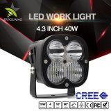 4.3Inch 12V 24V 40W Super brillant LED carrés hors route des phares de travail