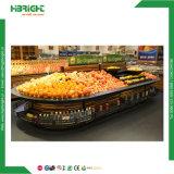 Het zwarte Plantaardige Rek van de Supermarkt voor Verkoop