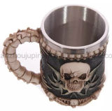 Les créations personnalisées en 3D de la résine en acier inoxydable mug