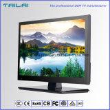 """USB del VGA HDMI del 16:9 de la pantalla ancha de 720p Isdbt LED TV TFT LCD del OEM 15.6 """""""