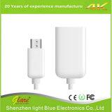 Высокоскоростной гибкий кабель данным по USB Micro для мобильного телефона