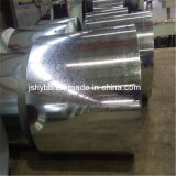 Dx51d laminó la hoja galvanizada de acero en bobina