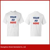 Magliette di pubblicità a buon mercato in bianco della fabbrica della Cina con il proprio marchio (R141)