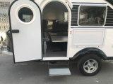 Tipo mini caravana del campista de la lágrima del acoplado del recorrido de la caravana de la fibra de vidrio