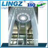 Подъем лифта стеклянной капсулы Sightseeing