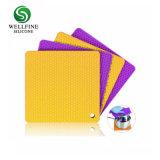 Bote de SILICONA silicona Trivets titulares, resistentes al calor de almohadillas calientes multiuso