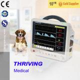 Монитор портативного Multi-Parameter ветеринарный терпеливейший