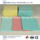 La FDA et FS biodégradable certifié Green de lingettes de nettoyage doux Spunlace industrielle appliquée dans le nettoyage de la cuisine, chambre, bureau, table
