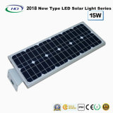 Novo tipo 2017 luz solar completa 15W do jardim do diodo emissor de luz