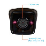 H. 265 4K 8.0megapixel ИК-3X зум-объектив камеры IP сети безопасности