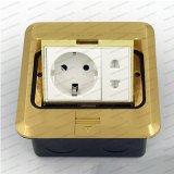 Duitse Vloer/de Gemalen Multifunctionele Vloer van de Dekking van het Messing van de Contactdoos Pop omhoog Elektro - opgezette Contactdozen