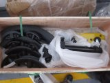 Hongli車輪(HHW-2/3/4)が付いている油圧手の管の曲がる機械