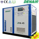 Compressore d'aria a vite rotativo guidato frequenza variabile industriale dell'invertitore diretto di VSD