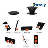Schwarze Handy-Halter-Montierung erweitern Standplatz-Griff/Netzkabel-Verpackung oben knallen