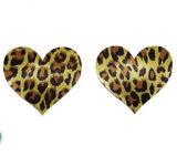 Leopard лепестков Pasties молочной железы