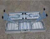 Напольное портативная пишущая машинка алюминиевого сплава складывая сиамские таблицы и стулы