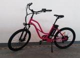 درّاجة كهربائيّة يستعمل على شاطئ
