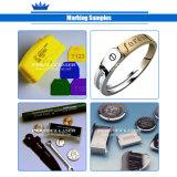 20W jóias de metal de alumínio máquina de gravação a laser de fibra de cor de Aço