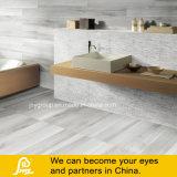 Tuile rustique de porcelaine émouvante en bois grise (Rovere Ceniza 3)