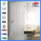 Дверь ровной равной составной панели Prehung одиночной нутряная белая