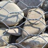 Jaulas de piedra soldadas/tejidas de la cesta superior de Gabion de la fábrica de Gabion