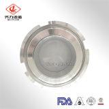 Acero inoxidable sanitario 304/tipo vidrio de la unión 316L de vista del tanque de la autógena