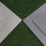 Nuevo diseño de cemento de baldosas de cerámica esmaltada de color beige Azulejos planta de inyección de tinta (AVE601-beige)