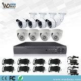 Kit Analog del sistema DVR della macchina fotografica del CCTV con la macchina fotografica della cupola del richiamo di 8 CH Ahd