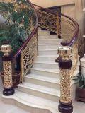 ホテルの装飾のための贅沢なアルミニウム階段柵