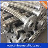 Alambre de la asamblea tejido el manguito del metal flexible