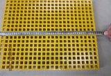 Reja moldeada fibra de vidrio/acoplamiento cuadrado 38X38X38/FRP, reja de GRP