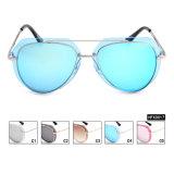 Nenhuns óculos de sol espelhados alta qualidade de MOQ para UV400 unisex (HFX0017)