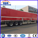 Special Aluminium Van Type Semi-Trailer per carbone/clinker/cemento di trasporto