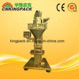 Sinfín de semi-automático de polvo de harina de máquina de llenado 100-1000g