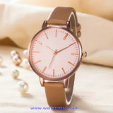 Signora su ordinazione Quartz Watch Fashion Wristwatch di marchio per la donna (WY-17008C)
