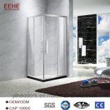 Receptáculo de ducha ducha de vidrio para el cuarto de baño