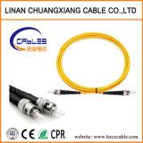 Cable de conexión de fibra óptica monomodo St-St