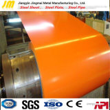 Dx51d+Z de Kleur Met een laag bedekte Rol van het Staal, de Kleur Gegalvaniseerde Rollen van het Staal PPGI