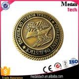 A cor de cobre de prata do ouro chapeou a moeda do desafio de Darbar do RAM do metal
