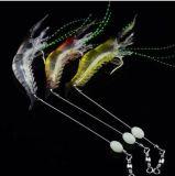 richiami morbidi morbidi del gambero dell'esca dell'attrezzatura di pesca di richiamo del gambero 6.4G di 9.5cm