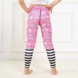 Печать для изготовителей оборудования Sport Leggings розового цвета брюки