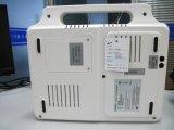 Machine de l'électrocardiographe ECG de la Manche de l'hôpital 3 de la Trois-Glissière ECG