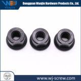 La Chine a fait hexagonales à tête ronde noire écrou de vis en acier inoxydable