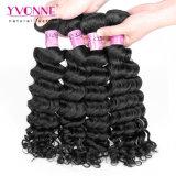 Yvonne Wholesale 100% het Onverwerkte Diepe Menselijke Haar van de Golf