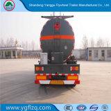 Gemaakt in het Vitriool van Shandong 25000liter/de Semi Aanhangwagen van de Tanker van het Koolstofstaal van Hydrochloric Zuur/van het Zwavelzuur