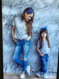 Jeans Mit Blauer Hose