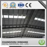 El material para techos acanalado a prueba de calor cubre la hoja de acero coloreada PPGI