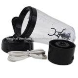 nachladbare Protein-Turbulenz-Mischmaschine-Schüttel-Apparatplastikflasche USB-16oz (450ml)